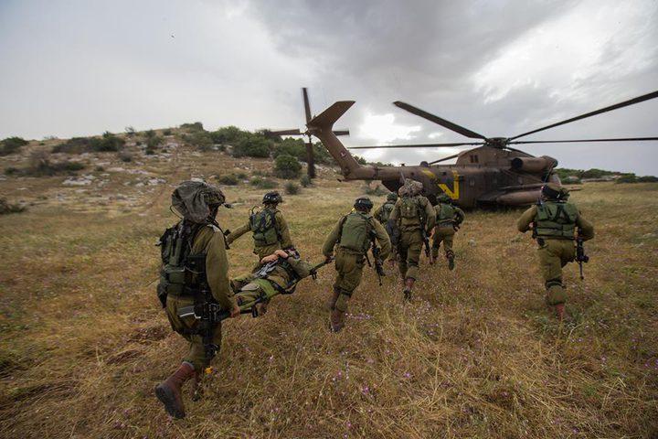 الاحتلال ينفذ مناورات عسكرية ويقتحم رمانة