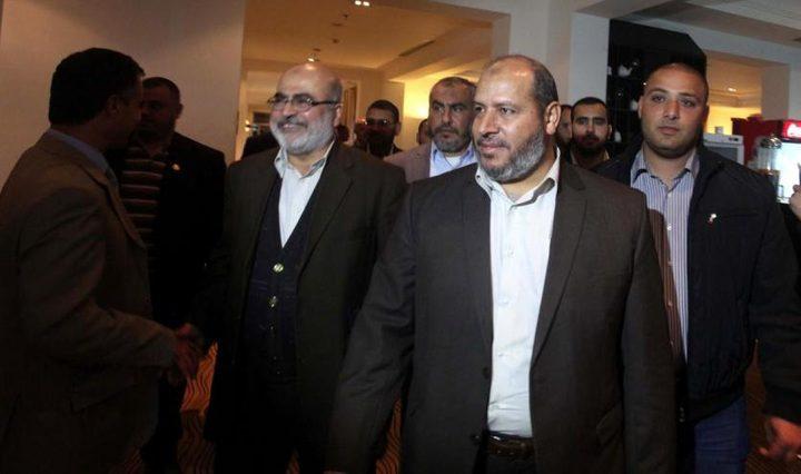 حماس: اختتمنا جولة مشاورات مع الفصائل حول التهدئة