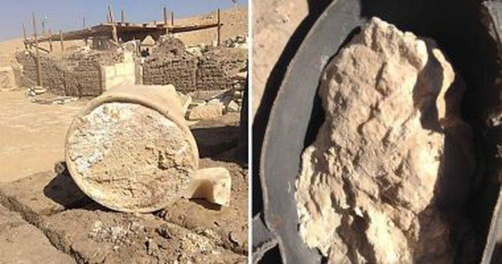 إكتشاف جديد في مقابر الفراعنة