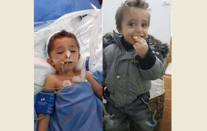 وفاة طفل متأثراً بإصابته بعد وقوع تلفاز عليه بجنين