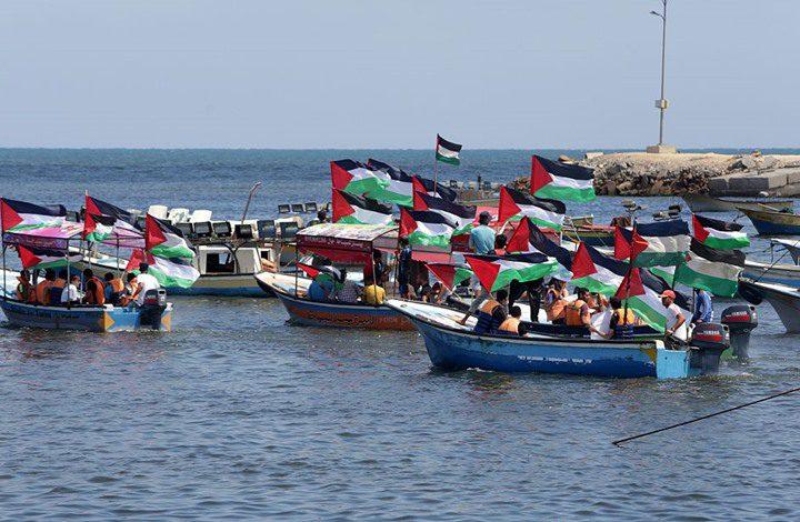الاحتلال يطلق النار تجاه المسير البحري شمال القطاع