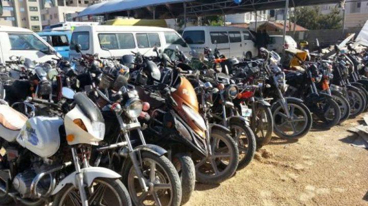 جنين:الوقائي يلاحق الدراجات النارية المخالفة