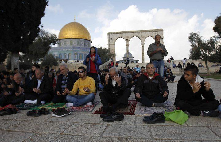 الاحتلال يعيد فتح أبواب المسجد الأقصى