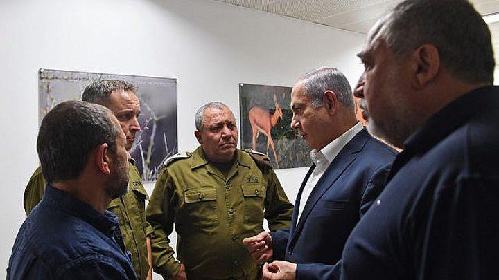 نتنياهو وليبرمان قررا مواصلة التهدئة مع حماس