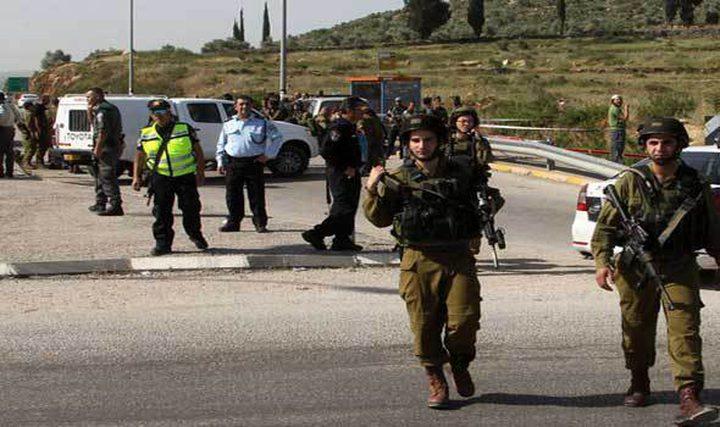 الاحتلال يشدد من اجراءاته العسكرية على شارع حوارة