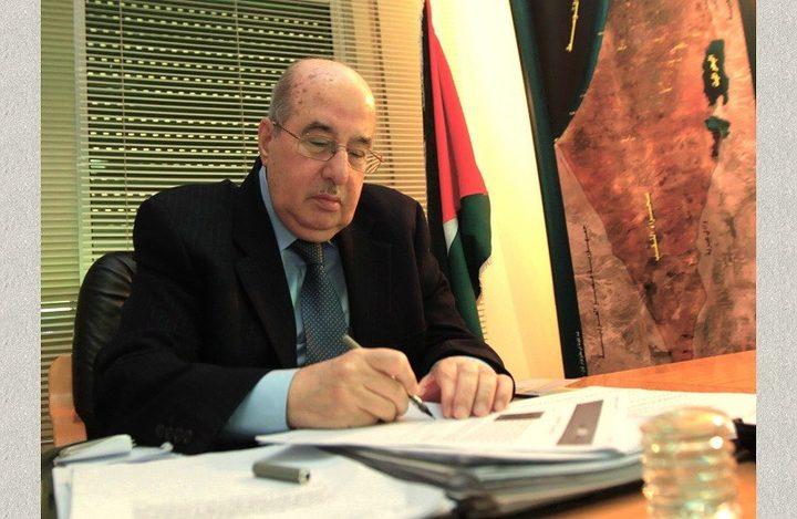 الزعنون يهنئ الشعب الفلسطيني بحلول عيد الأضحى