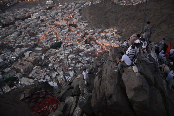 الأوضاع مستقرة في مكة والحجاج يتوافدون إلى عرفات
