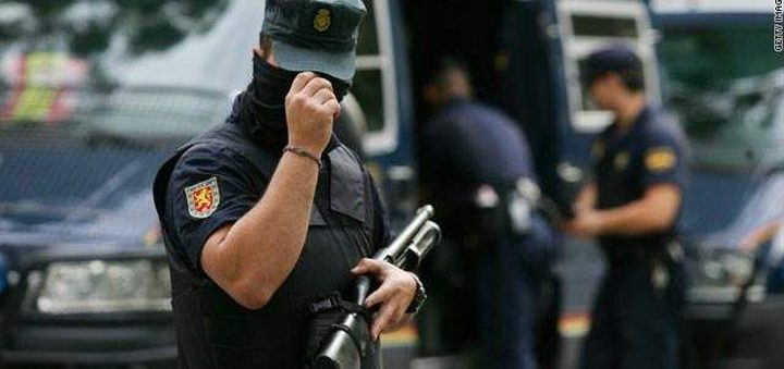 الشرطة الاسبانية: الهجوم على الشرطة عمل ارهابي