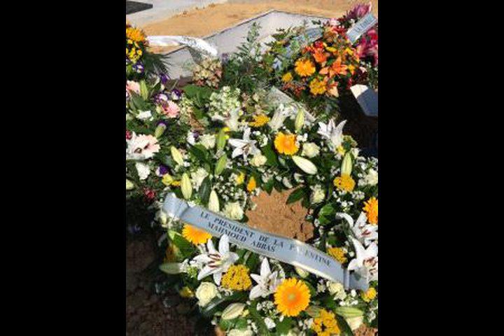 تشييع جثمان الفنان الفلسطيني سمير سلامة في فرنسا