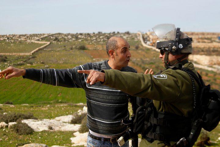 الاحتلال يخطر بهدم منزل في بلدة الخضر