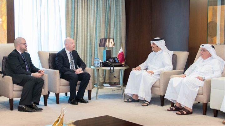 اجتماع أمريكي قطري رفيع بشأن غزة وصفقة القرن