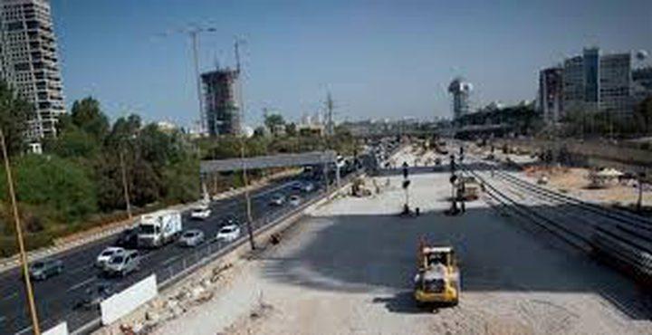 """إلغاء أعمال بناء جسر """"تل أبيب"""""""