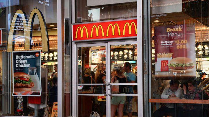 """500 حالة تسمم في أمريكا بسلطة """"ماكدونالدز"""""""