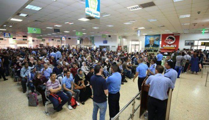 تنقل 14743 مسافر الجمعة على معبر الكرامة