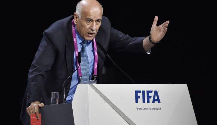 """نتنياهو: """"الفيفا"""" سددت نحو الهدف"""