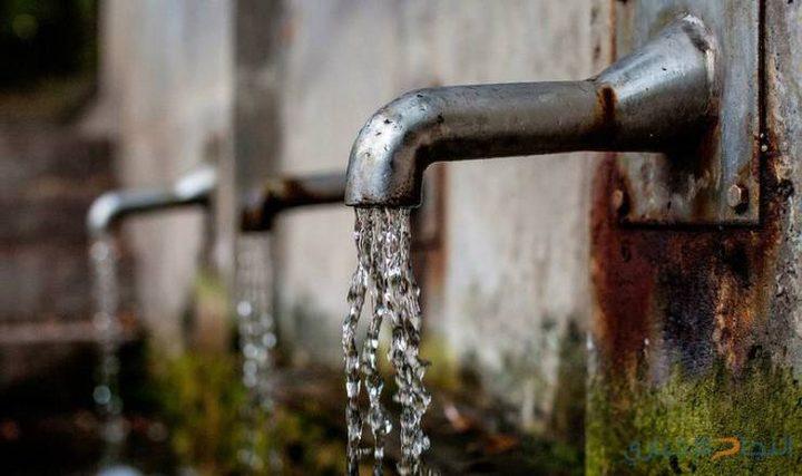 جدول توزيع المياه في نابلس اليوم