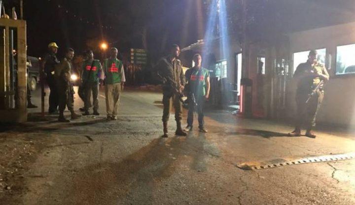 """الاحتلال يزعم بتسلل في مستوطنة """"بسجوت"""" شرق البيرة"""