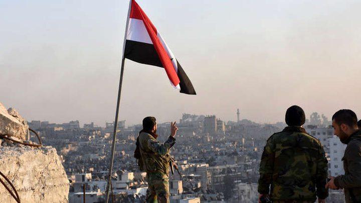 الضربة الغربية على سوريا لتغطية هجوم للمسلحين