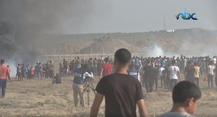 """جمعة """"الوفاء للطواقم الطبية والإعلامية"""" بغزة"""