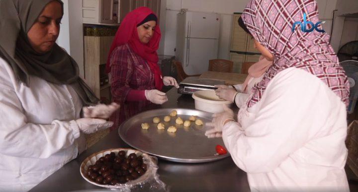 معمول وكعك العيد في قطاع غزة