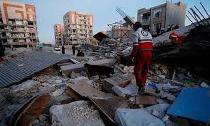 إيران: مقتل شخصين وإصابة 241 آخرين جراء زلزال