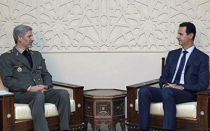 اتفاق عسكري سوري ايراني