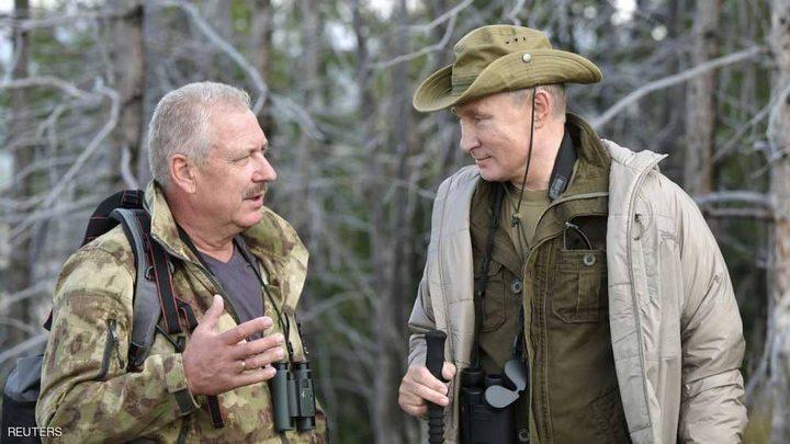 بوتن في سيبيريا مع كبار المسؤولين الأمنيين