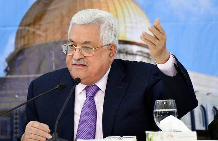 خطاب مرتقب للرئيس محمود عباس