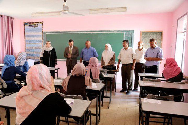 2800 طالب وطالبة يتقدمون لامتحان التطبيقي الشامل