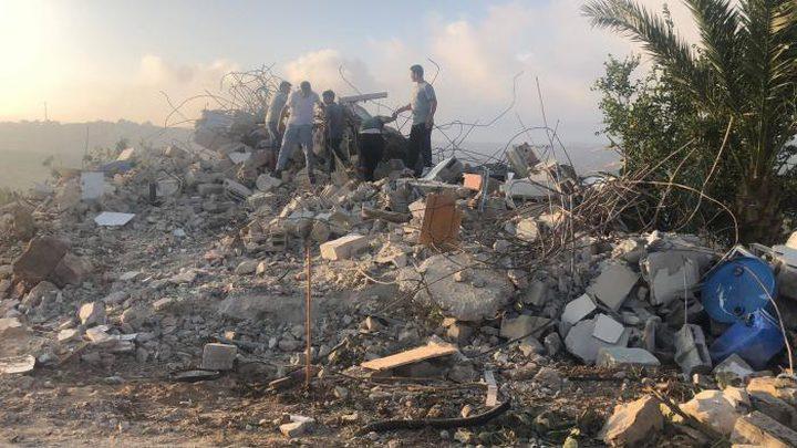 الاحتلال يهدم منزل الشهيد محمد دار يوسف