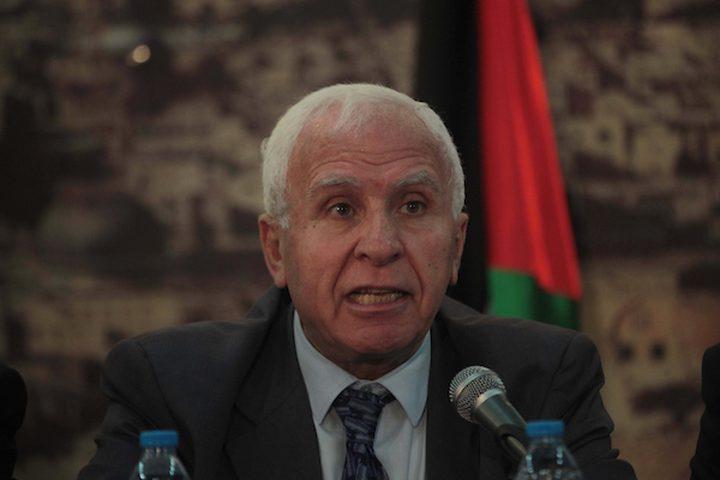 الأحمد يتحدث عن ردّ فتح على ورقة مصر للمصالحة