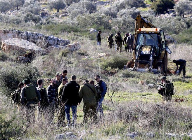 الاحتلال يخطر بالاستيلاء على أراضي شرق بيت لحم