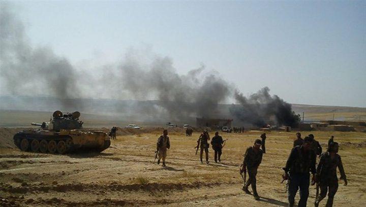 اشتباكات عنيفة بين الجيش السوري وداعش بالسويداء