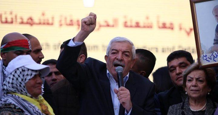 العالول يتفقد مخيم عين الحلوة في لبنان
