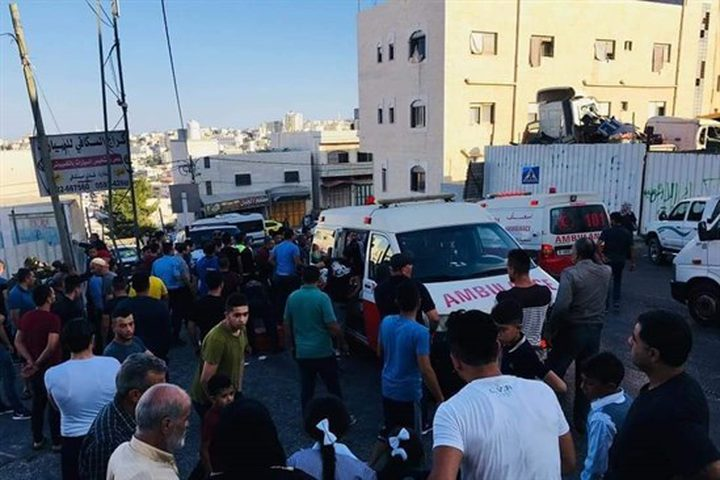 إصابة 14 طالبة بحادث دهس