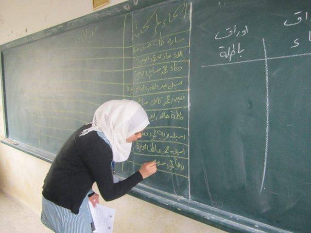 الحمد الله يطلق العام الدراسي من مدرسة بنات عقابا