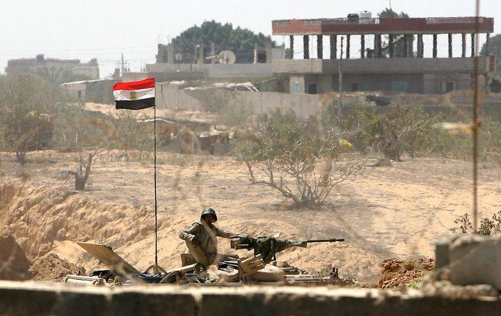 الجيش المصري يعلن مقتل 20 مسلحا