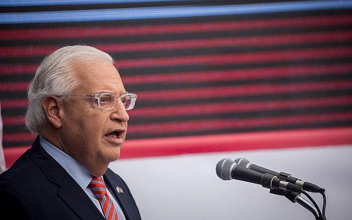 """فريدمان: """"التهدئة هي جائزة ثمينة لحركة حماس"""""""