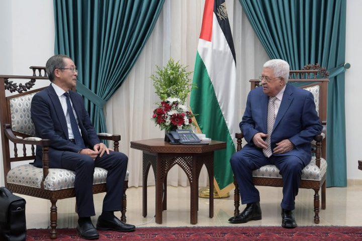 اليابان تؤكد التزامها بتقديم الدعم للشعب الفلسطيني