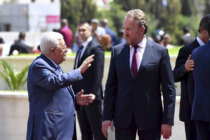 الرئيس البوسني يتجول في رام الله ويتذوق الفلافل