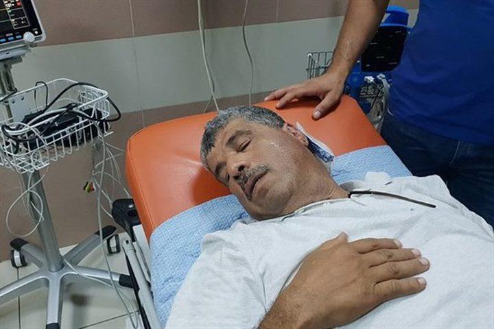 """إصابة الوزير عساف برصاصة مطاطية بـ""""راس كركر"""""""
