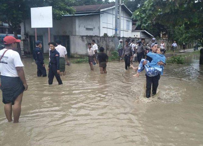 85 قرية تغرق في ميانمار