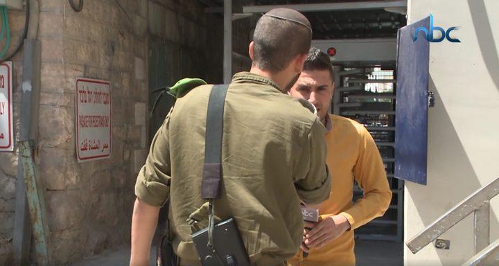 معاناة الطلبة في تل الرميدة من مضايقات الاحتلال