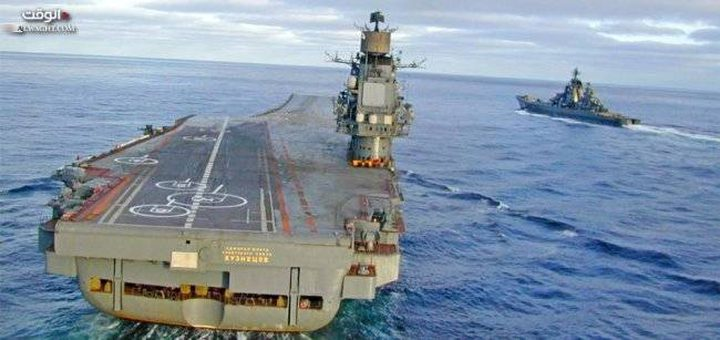 26 سفينة حربية روسية تشارك بمناورات الأسطول البحري