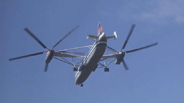 طائرة عمودية متعددة المراوح ذات محرك هجين