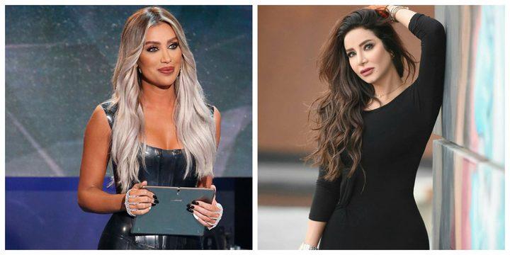 لجين عمران ومايا دياب بإطلالة مُتشابهة في الأزياء