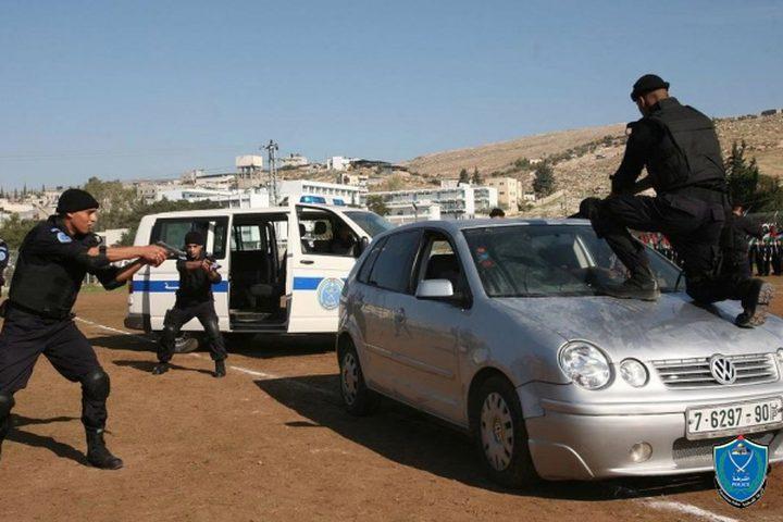 الشرطة تقبض على سارق سيارة في قفين