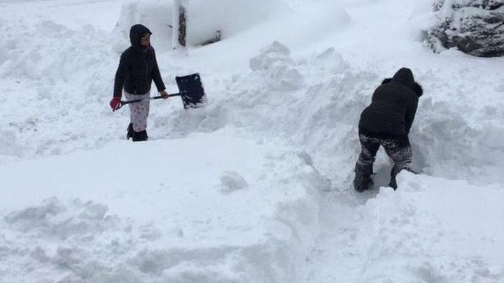 لحظة العثور على جثة امرأة غمرتها الثلوج قبل 30عاما