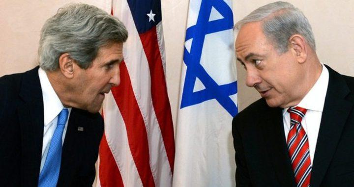 كيري: نتنياهو رفض خطة سلام مع الفلسطينيين