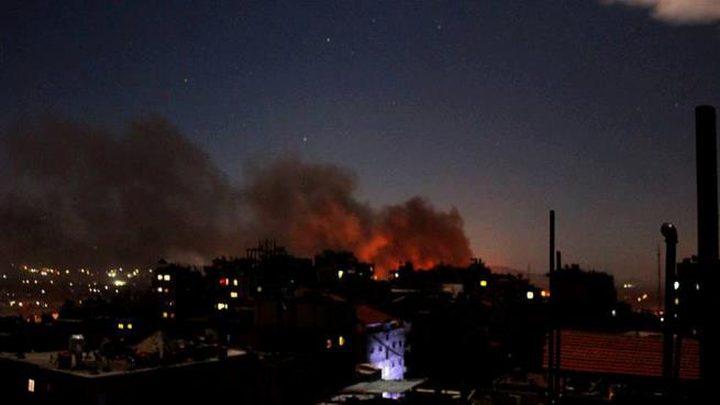 سماع دوي عدة انفجارات قرب مطار المزه العسكري بدمشق